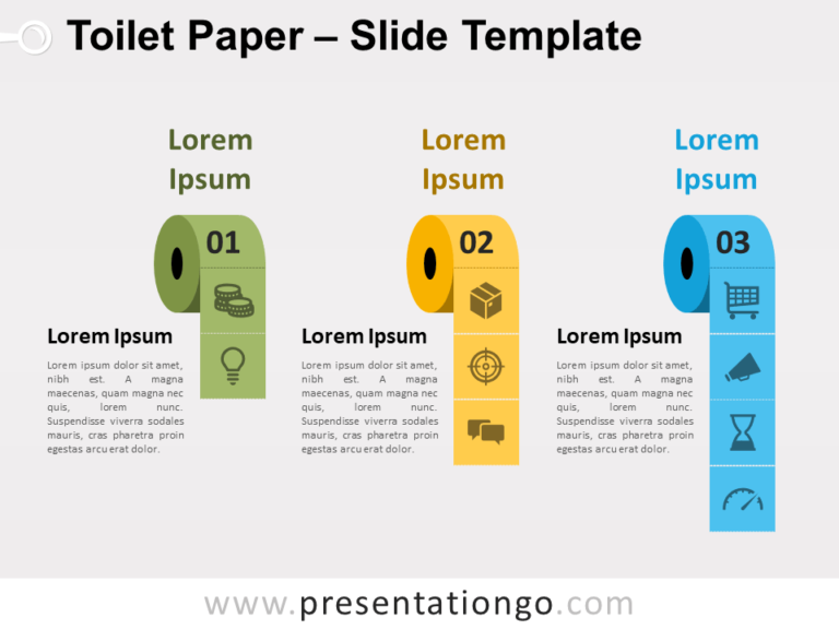 Free Toilet Paper for PowerPoint