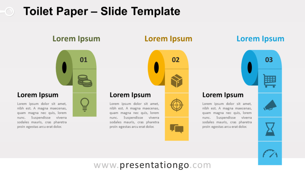 Free Toilet Paper for PowerPoint and Google Slides