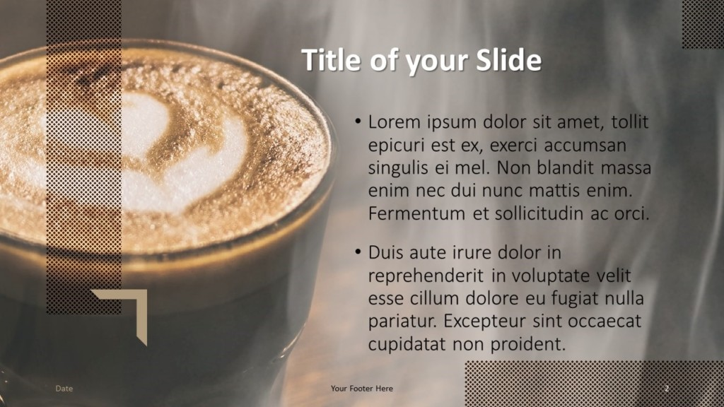 Free BARISTA Template for Google Slides – Title and Content Slide (Variant 1)