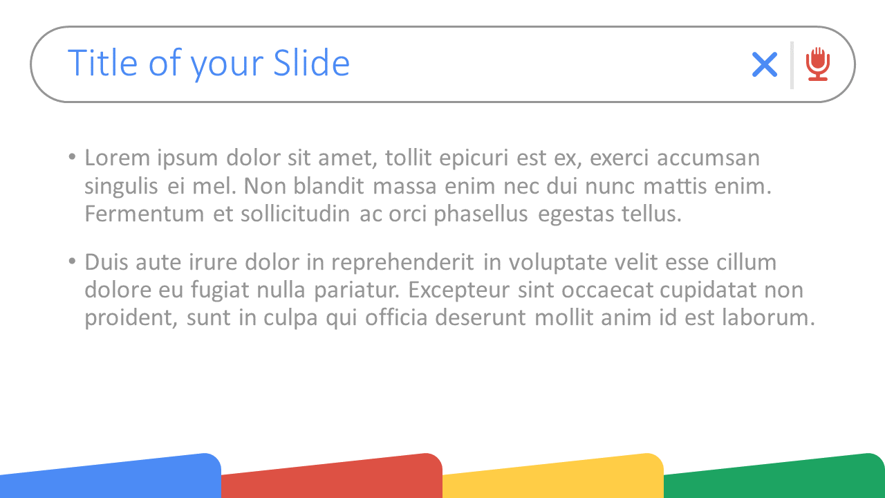 Free CHROME Template for Google Slides – Title and Content Slide (Variant 1)