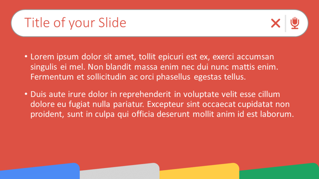Free CHROME Template for Google Slides – Title and Content Slide (Variant 2)