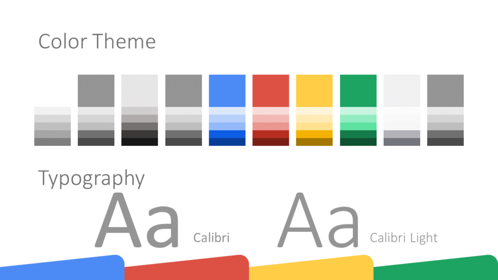 Free CHROME Template for Google Slides – Colors and Fonts