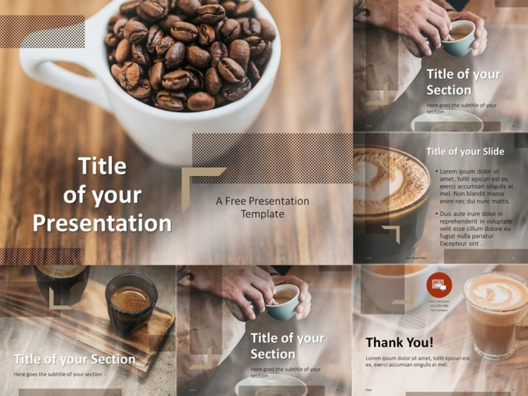 Free BARISTA Template for PowerPoint and Google Slides
