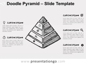 Free Doodle Pyramid for PowerPoint