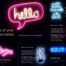 Free NEON SIGNS Template for PowerPoint and Google Slides