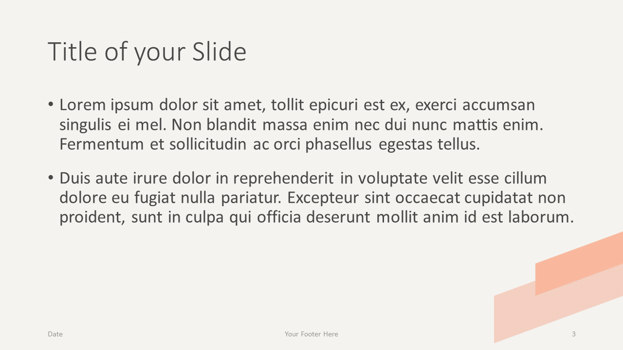 Free ROMANTIC SUMMER Template for Google Slides – Title and Content Slide (Variant 2)
