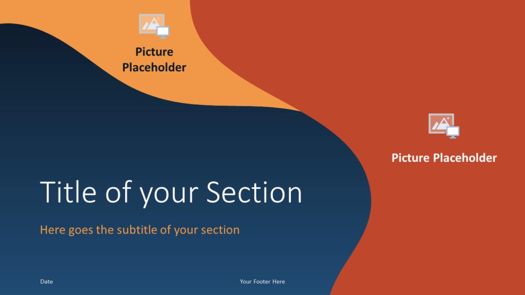 Free FLUID Template for Google Slides – Section Slide (Variant 1)