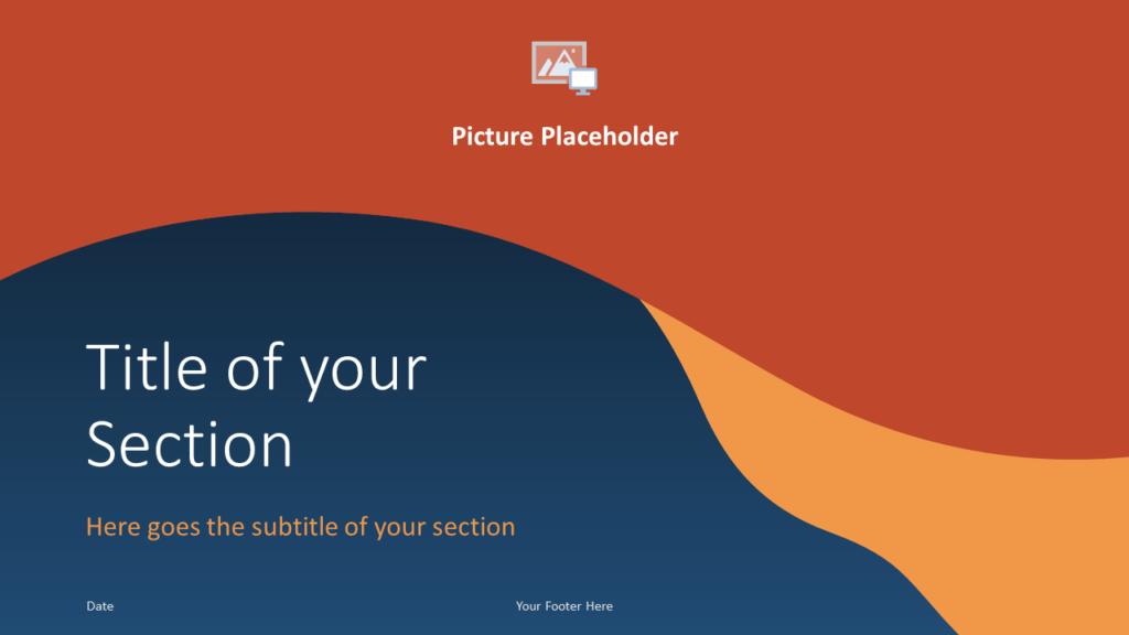Free FLUID Template for Google Slides – Section Slide (Variant 2)