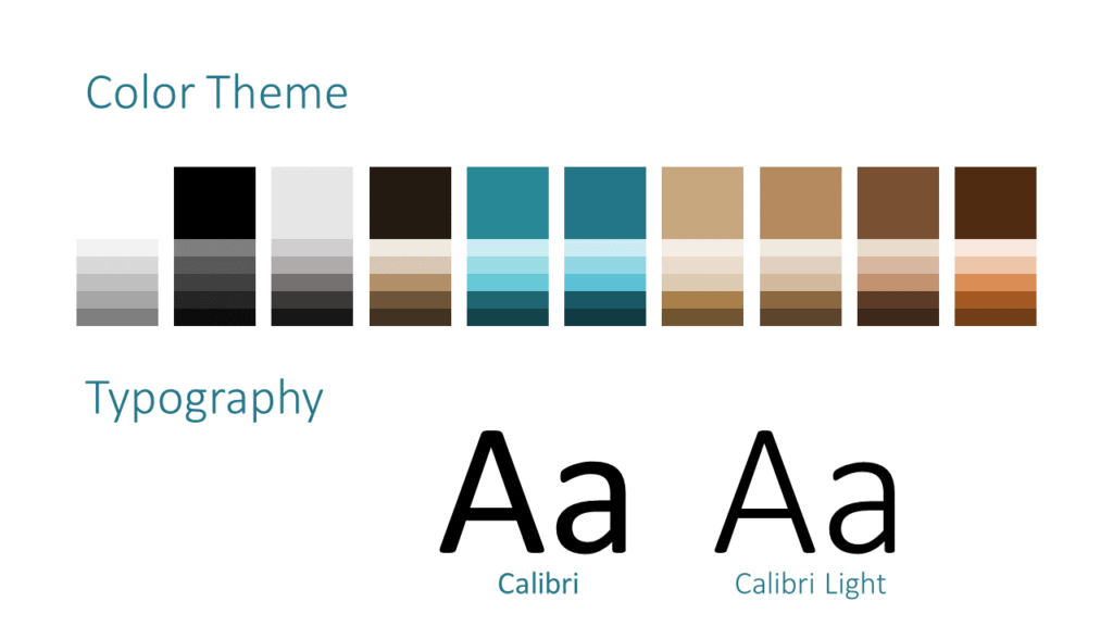 Free Stone Mosaic Template for Google Slides – Colors and Fonts