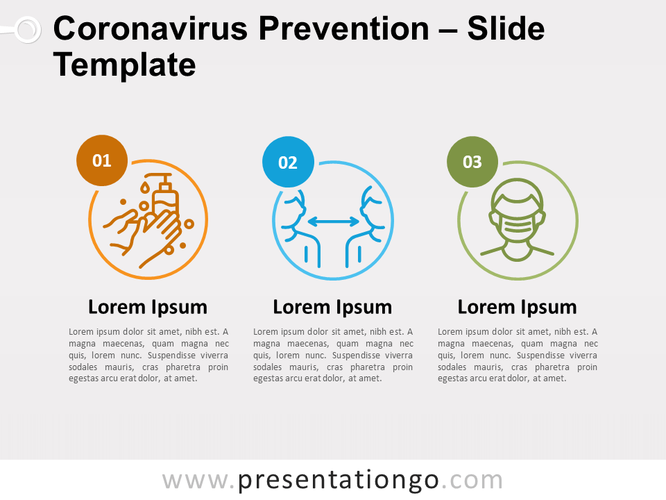 Free Coronavirus Prevention for PowerPoint