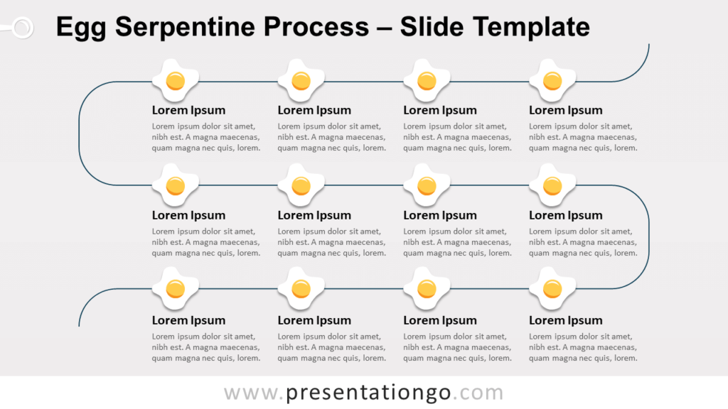 Free Egg Serpentine Process for PowerPoint and Google Slides