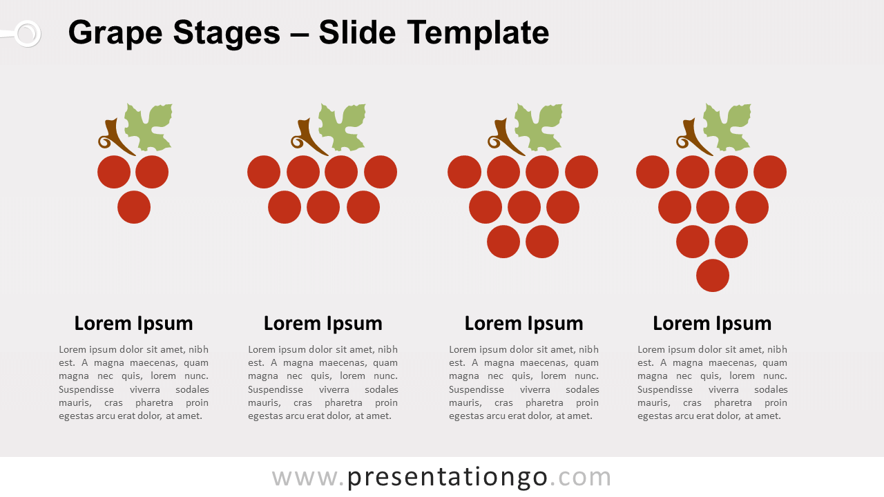 Free Grape Stages for PowerPoint and Google Slides