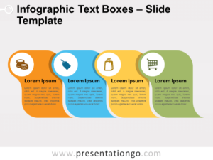 Free Infographic Text Boxes for PowerPoint