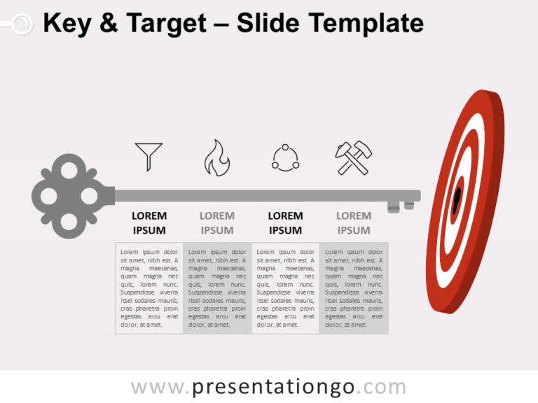 Free Key and Target for PowerPoint
