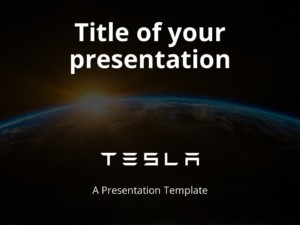 Free Tesla Template for PowerPoint