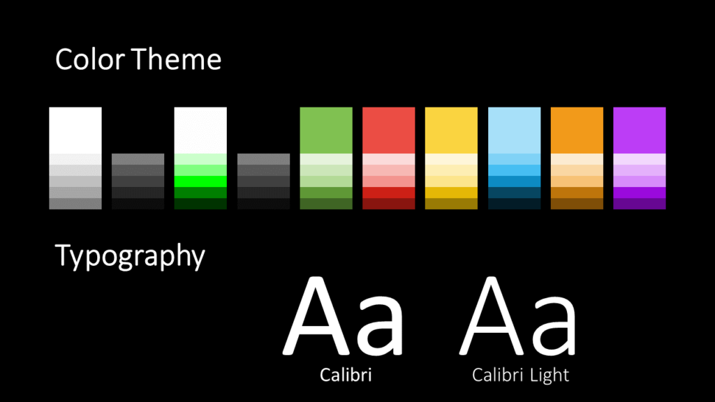 Free Mondrian Pop Art Template for Google Slides – Colors and Fonts