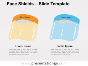 Free Face Shields for PowerPoint