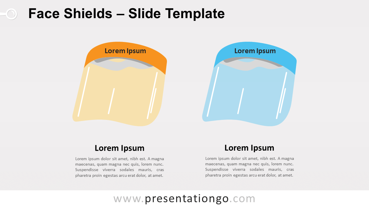 Free Face Shields for PowerPoint and Google Slides