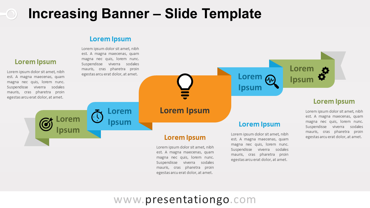 Free Increasing Banner for PowerPoint and Google Slides