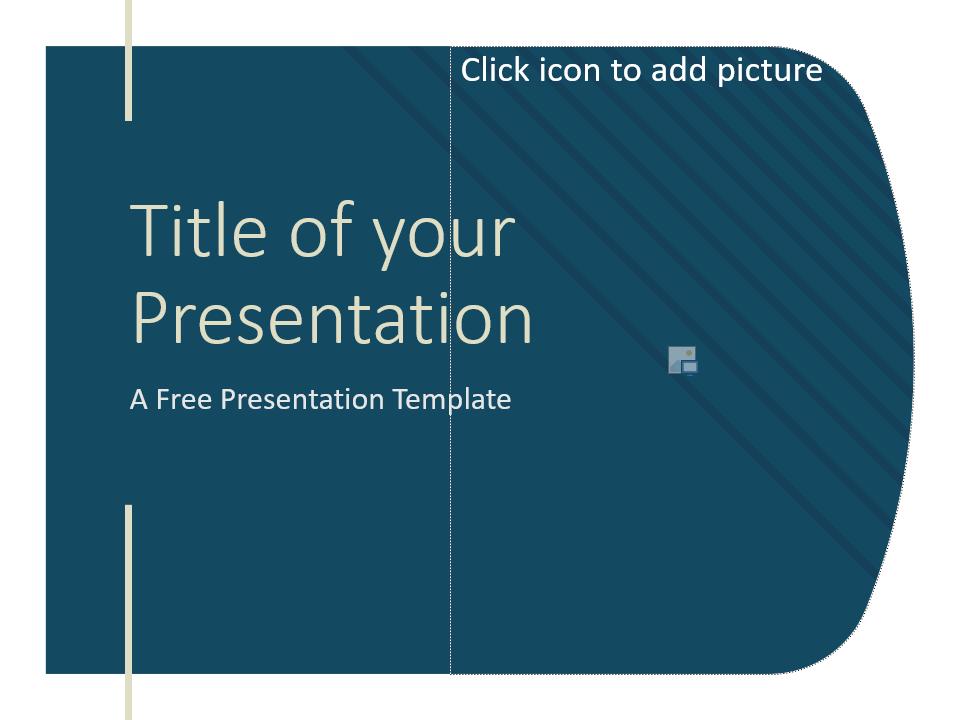Free Imperial Template for Google Slides - Cover Slide