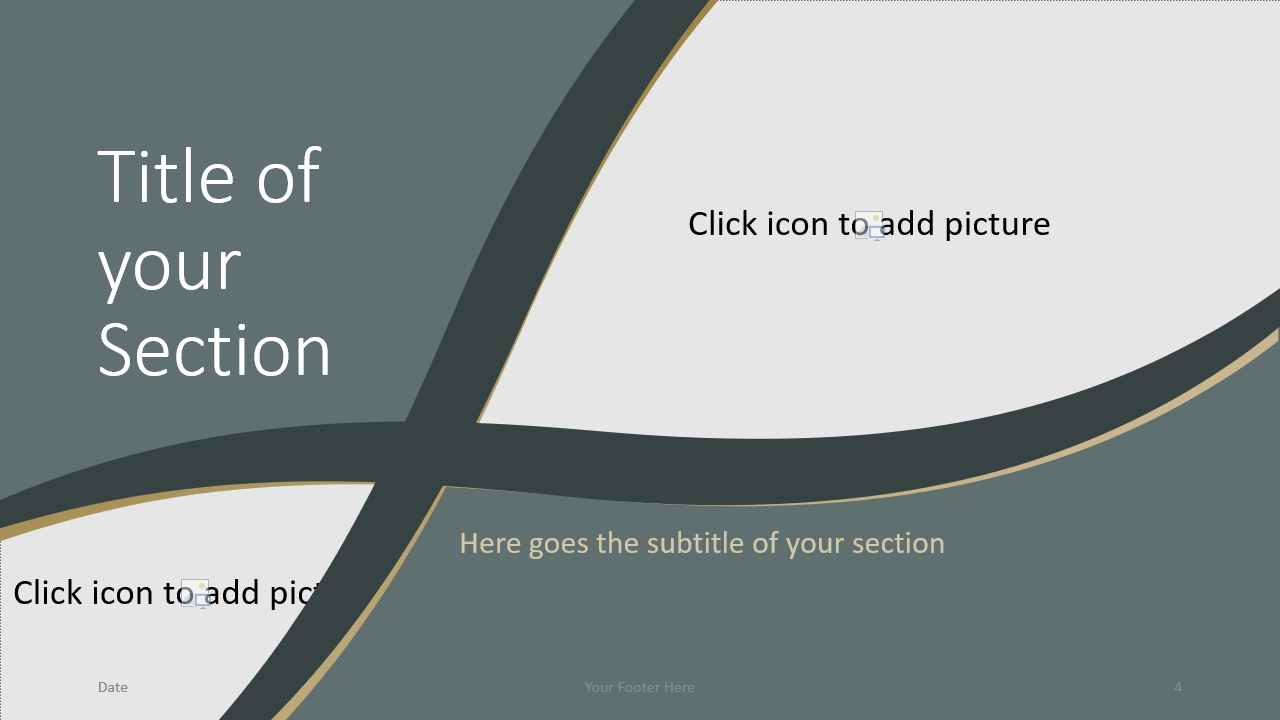 Free Eleganza Template for Google Slides – Section Slide (Variant 1)