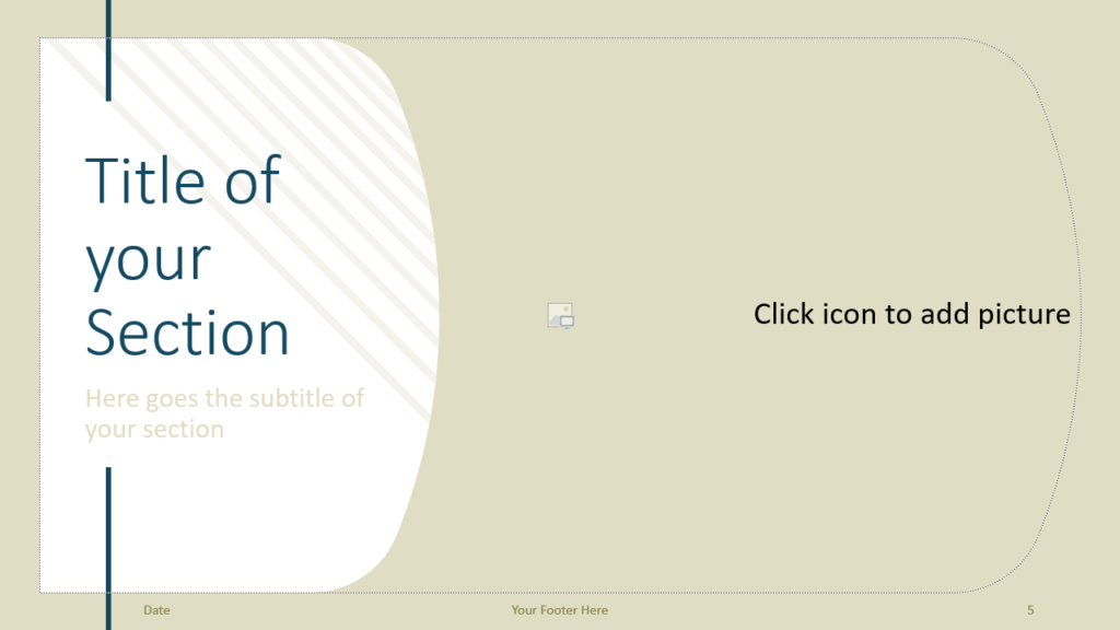 Free Imperial Template for Google Slides – Section Slide (Variant 2)