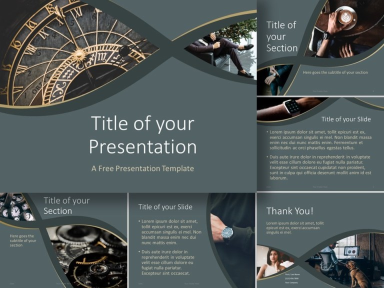 Free Eleganza Template for PowerPoint and Google Slides