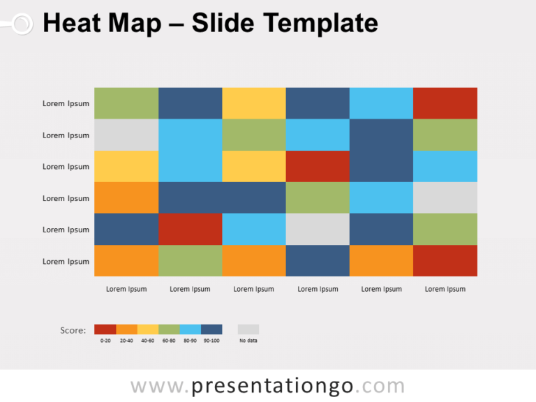 Free Heat Map for PowerPoint