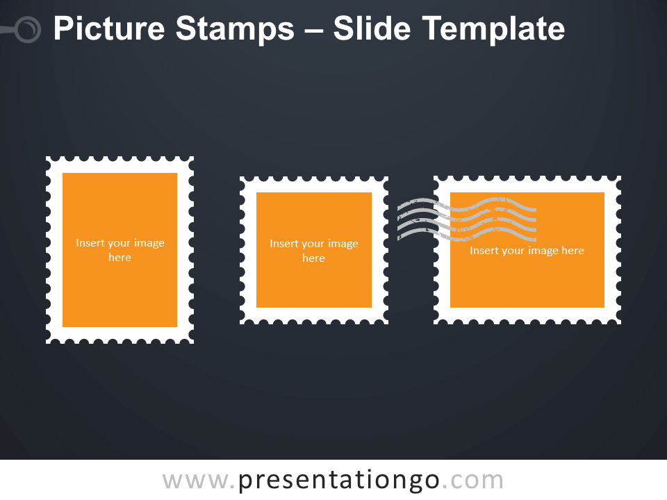 Free Picture Stamps Template for PowerPoint