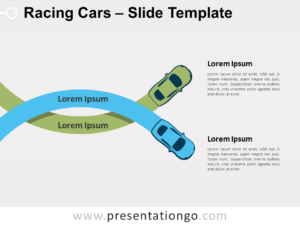Free Racing Cars for PowerPoint