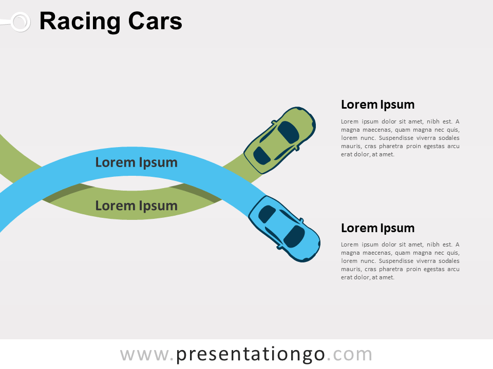 Racing Cars PowerPoint (Collection)
