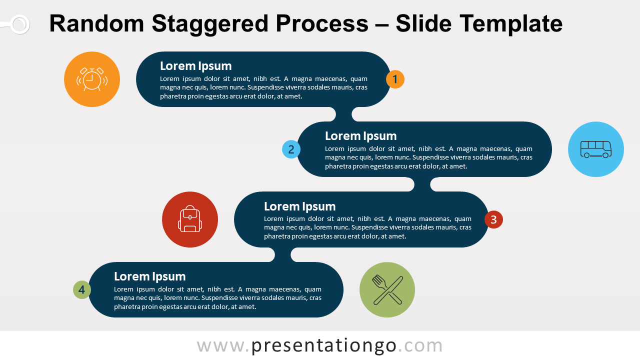 Free Random Staggered Process for PowerPoint and Google Slides