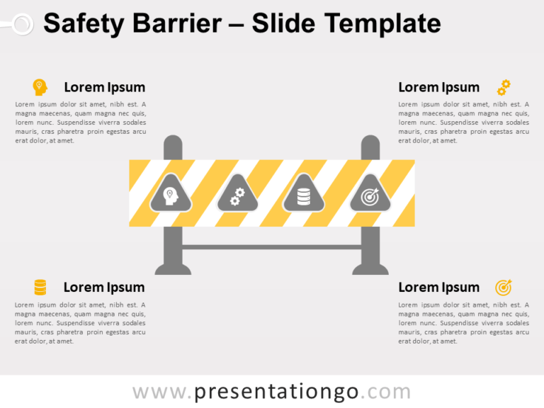 Free Safety Barrier for PowerPoint