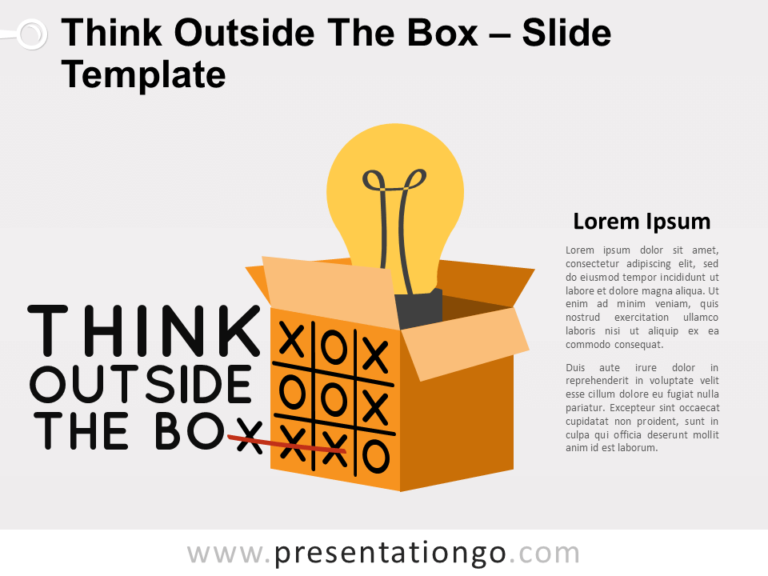 Free Think Outside The Box for PowerPoint