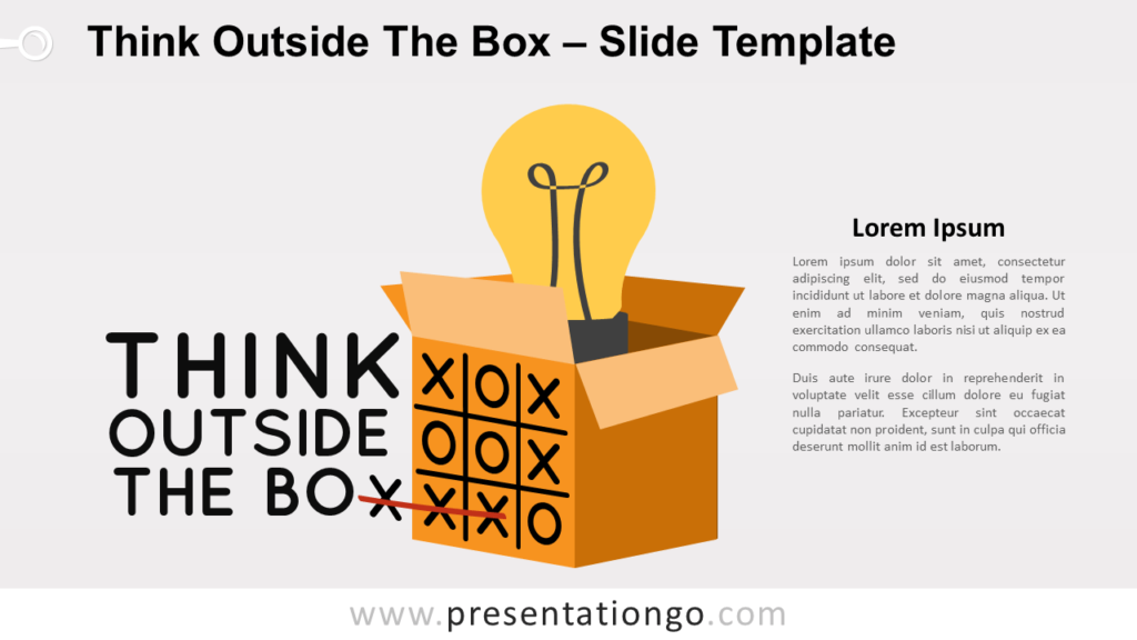 Free Think Outside The Box for PowerPoint and Google Slides
