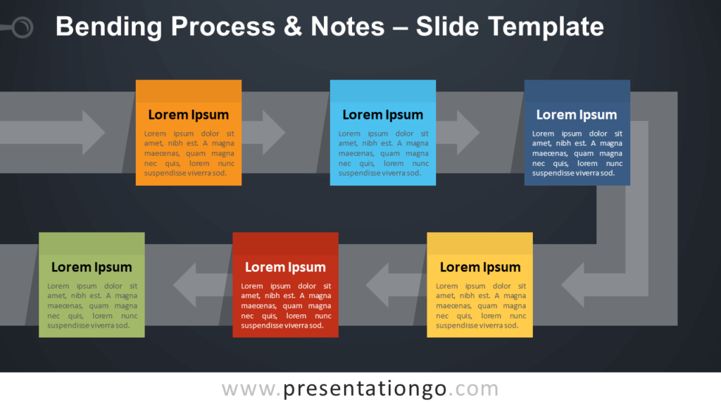 Free Bending Process & Notes Template for PowerPoint and Google Slides