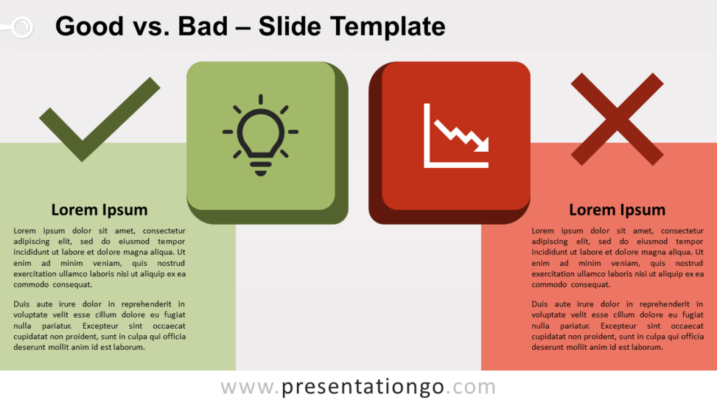 Free Good vs Bad for PowerPoint and Google Slides
