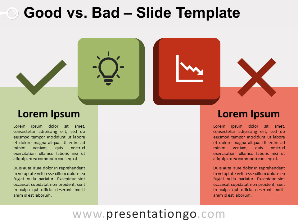 Free Good vs Bad for PowerPoint