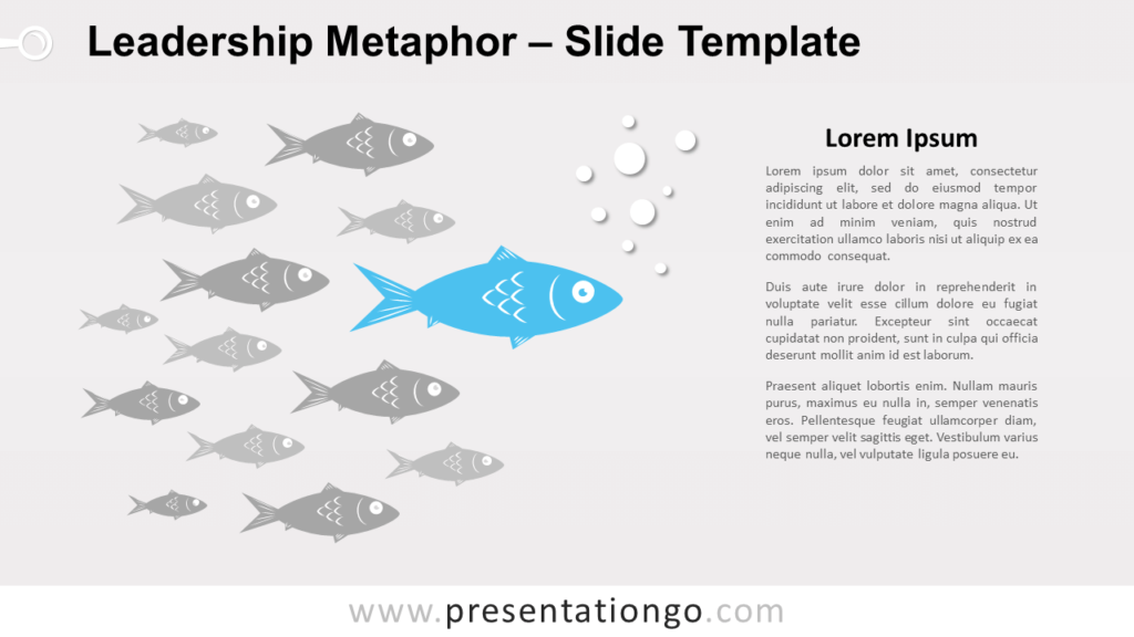 Free Leadership Metaphor for PowerPoint and Google Slides