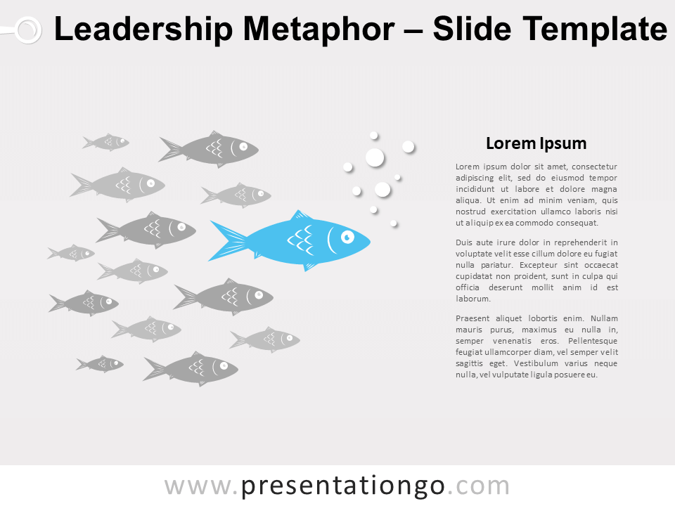 Free Leadership Metaphor for PowerPoint