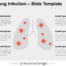 Free Lung Infection for PowerPoint