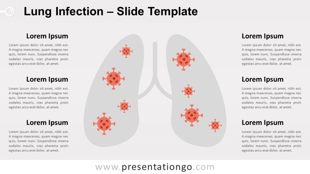Free Lung Infection for PowerPoint and Google Slides