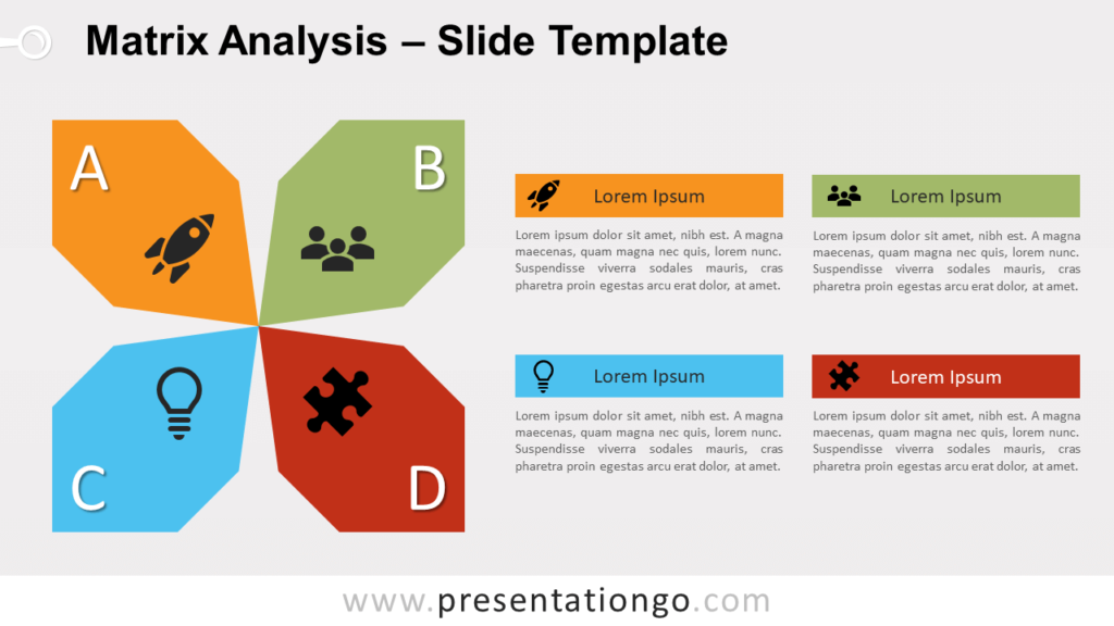 Free Matrix Analysis for PowerPoint and Google Slides