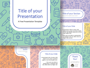 Free Medicons Medical Health Template for PowerPoint and Google Slides