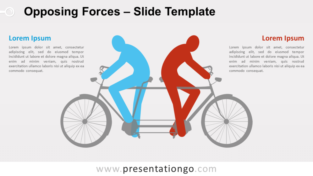 Free Opposing Forces for PowerPoint and Google Slides