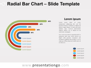 Free Radial Bar Chart for PowerPoint