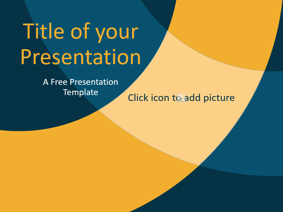 Free Golden Ring Template for Google Slides - Cover Slide