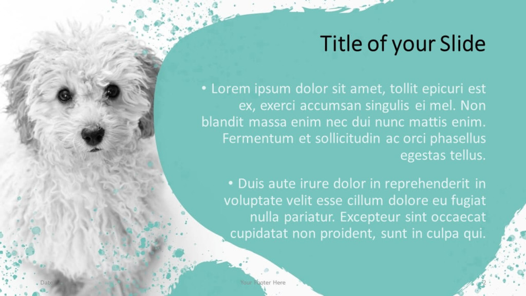 Free Pets Template for Google Slides – Title and Content Slide (Variant 1)