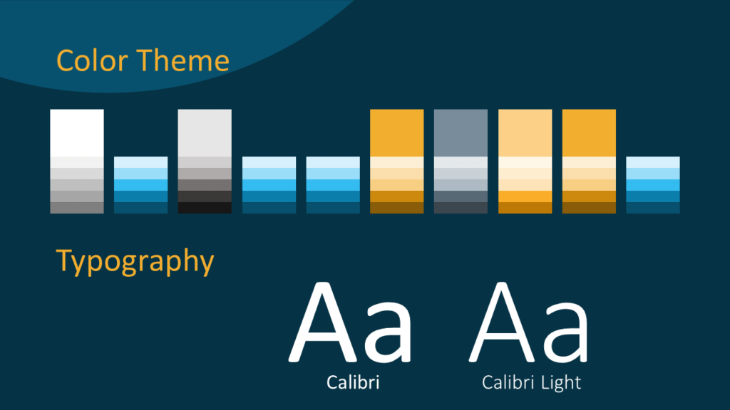 Free Golden Ring Template for Google Slides – Colors and Fonts