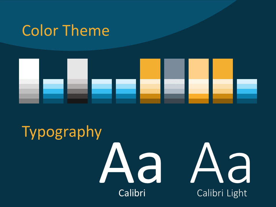 Free Golden Ring Template for PowerPoint – Colors and Fonts